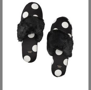 VS Signature Satin Slippers